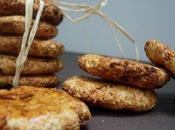 Biscuits l'amande, noix coco, cranberries fève TONKA
