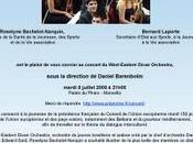 Concert West-Eastern Divan Orchestra juillet Marseille ouvert invitation