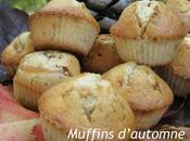 Muffins d'Automne pour Dominique