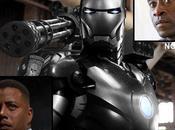 Iron-man sera Machine Terence Howard pose question