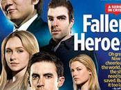 """L'audience danger """"Heroes"""" couverture d'Entertainment Weekly"""