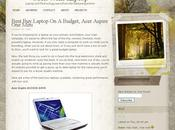 Thème WordPress Autumn Forest