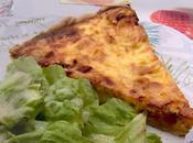 Quiche allégée poireaux avec pâte tarte fromage blanc