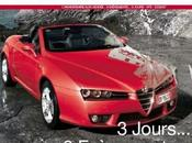 Carton d'invitation août, septembre 2007 chez Alfa Vendée