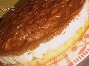 Gâteau mousseux faisselle mousse chocolat
