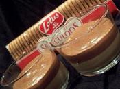 Verrine panna cotta speculoos mousse chocolat