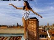 Chloé Mortaud Miss France 2009 radieuse dans toutes tenues, regardez