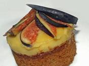Sablé bretons figues crème calissons.