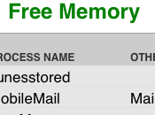 Free Memory Gérer mémoire votre iPhone (App Store)