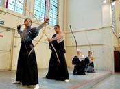Kyudo, dojo Abbesses
