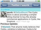 Cydia Store arrive iPhones jailbreakés