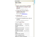 GTask Sidebar, votre gestionnaire tâches Gmail Firefox