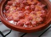 Tajine boulettes viande oeufs