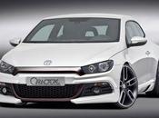 Volkswagen Sirocco Caratere design encore plus agressif.
