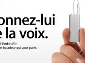 nouvel iPod Shuffle chez Apple parle