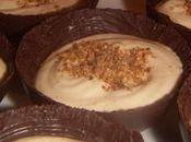 Coque chocolat mousse mascarpone-praliné