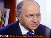 Laurent Fabius offensif contre gouvernement