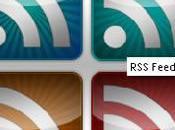 icones RSS, glossy, funcky, flex
