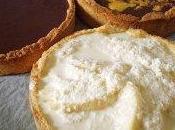 tartes chocolat lait/chocolat-mangue/noix coco-mangue-pomme