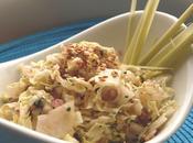 Salade croquante chou, chou chinois