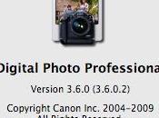 Logiciel nouvelle version pour Canon