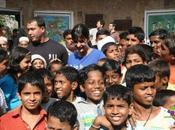 Katrina visite bidons villes Dharavi
