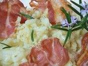 Risotto pancetta romarin