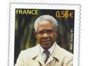 Aimé Césaire négritude timbre hommage Poste