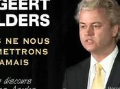 Geert Wilders garde l'Amérique péril guette l'Europe.