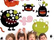 Stickers Muraux enfants OcéChou Nicole Maubert)