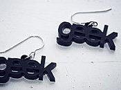 boucles d'oreille colliers pour geekettes