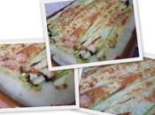 Lasagnes courgettes cabillaud