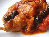Lapin Tomate Olives Noires