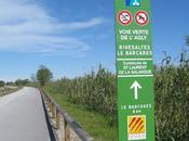 voies vertes l'Agly entre Laurent Torreilles