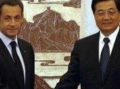 retour grâce auprès Chine