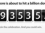 Apple bientôt milliard d'applications téléchargées