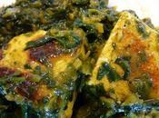 Palak Paneer épinards fromage indien fait maison