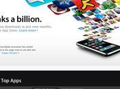 AppStore enfin milliard téléchargements