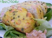 Terrine saumon crevettes.