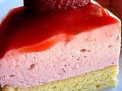 Bavarois fraises