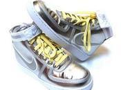 Nike Vandal 'Metallic Silver/Yellow'