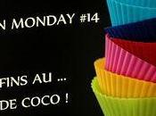 Muffins coco, pommes chocolat