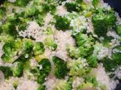 Risotto crevettes broccoli