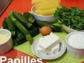 Cannellonis farcis courgettes