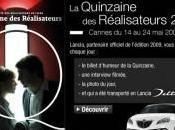 Lancia, partenaire Quinzaine Réalisateurs Cannes