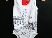 Body bébé Tour Eiffel (Gaspard Butte)