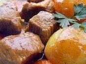 Curry veau pommes terre carottes