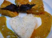 Curry poisson bord d'Oman