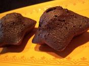 Muffins étoilés chocolat fève tonka