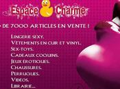 Campagne d'affichage chic pour Espace Charme